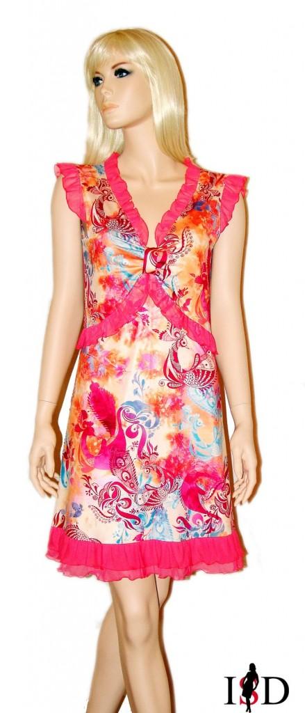 Jersey-Sommerkleid