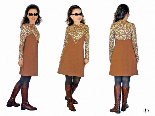 business kleid leo look 4
