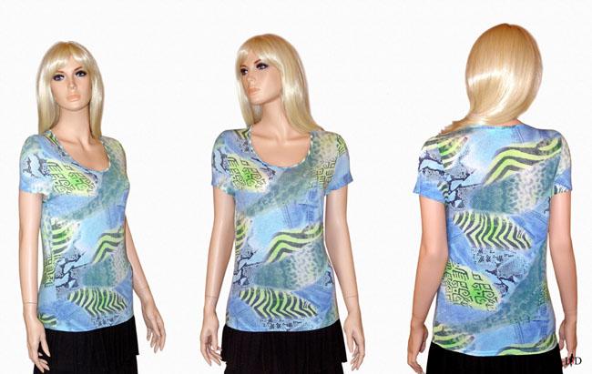 Viskosejersey shirt