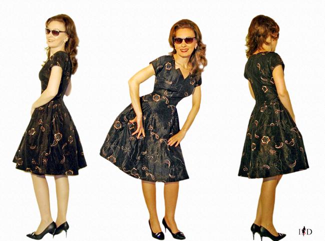 Abendkleid-Vintage