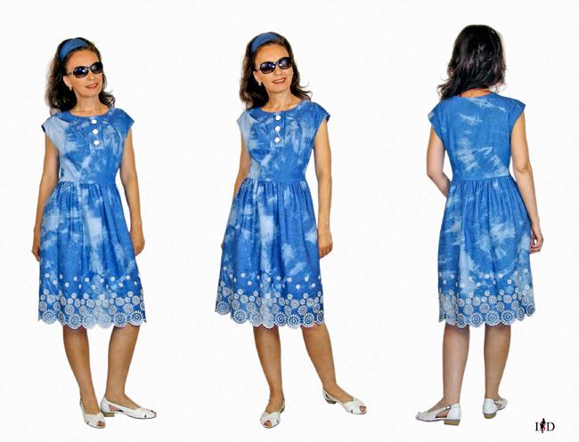 batik kleid 1