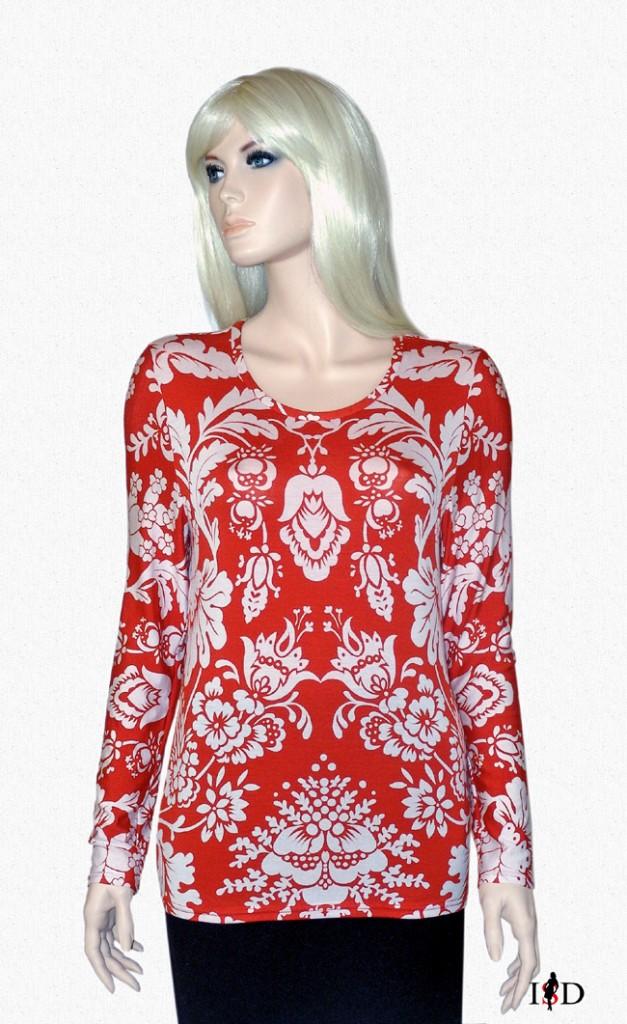 Blumendessin- Shirt