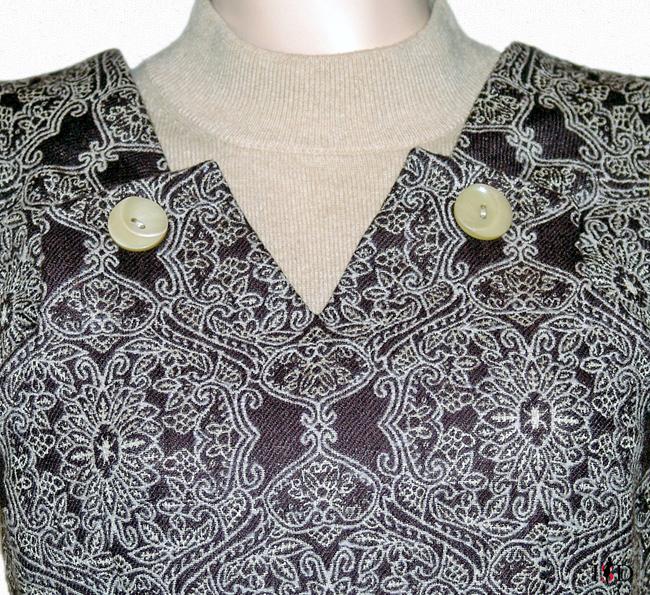vintagekleid halsausschnitt