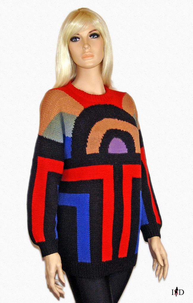 pullover grafikmuster