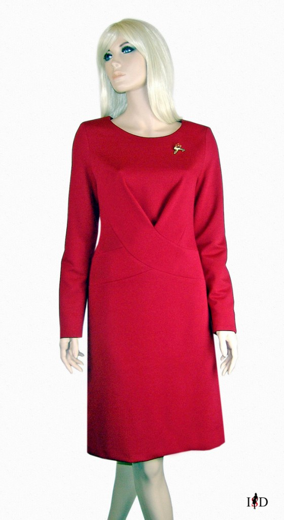 drape-businesskleid