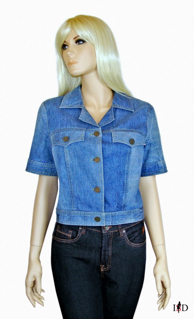 jeansjacke upcycling