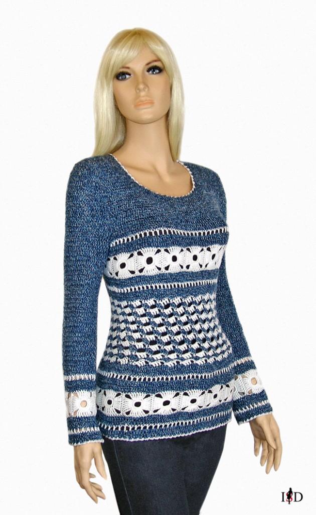 häkelsweater
