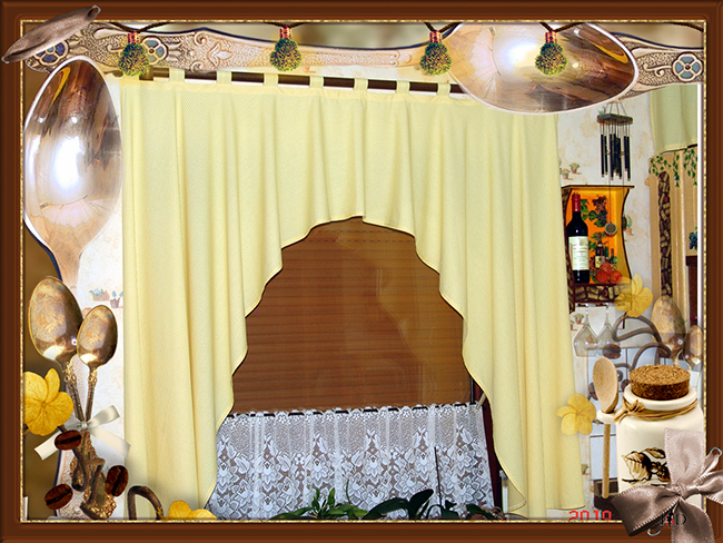 küchenfenstervorhang kaskade