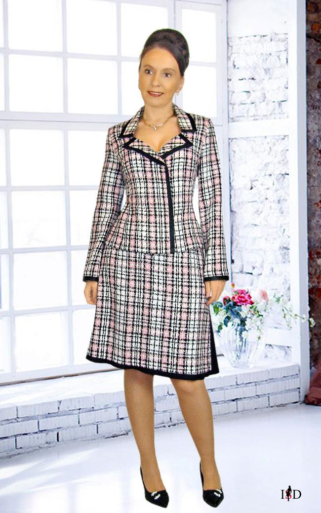tweed kostüm doppelrock 2