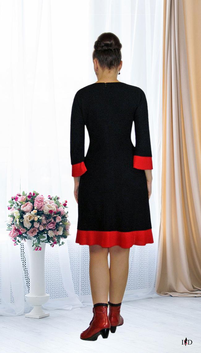 haute couture etuikleid stickerei,schwarz