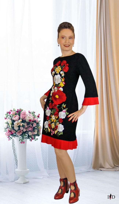haute couture etuikleid