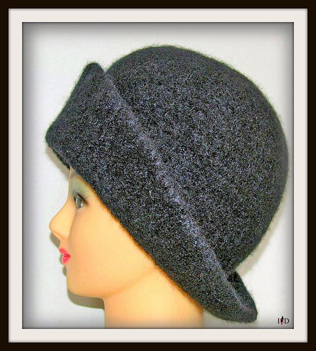 Calabrese Hut schwarz