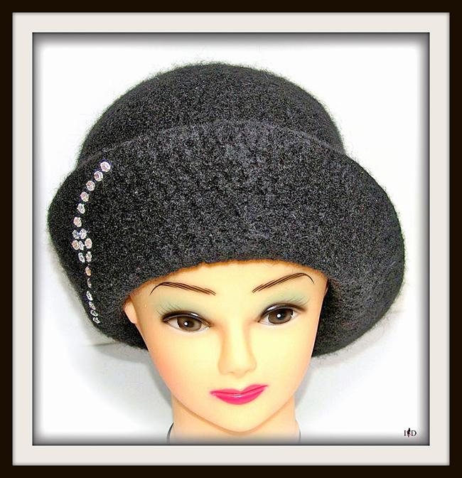 Calabrese Hut mit Strass
