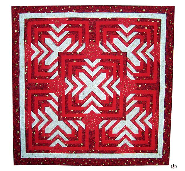 designer patchwork mitteldecke weihnachten