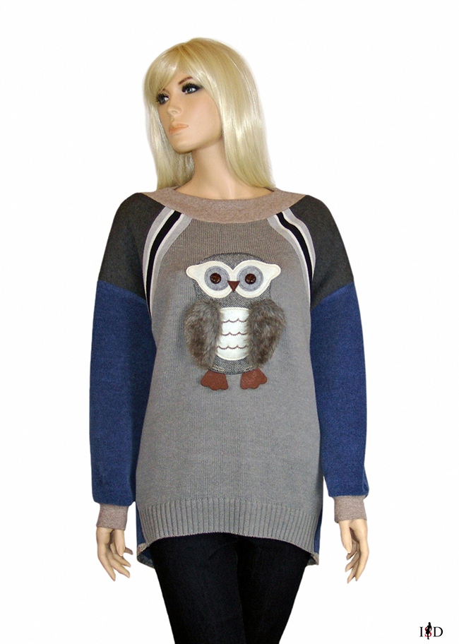 patch sweater 3d applikation