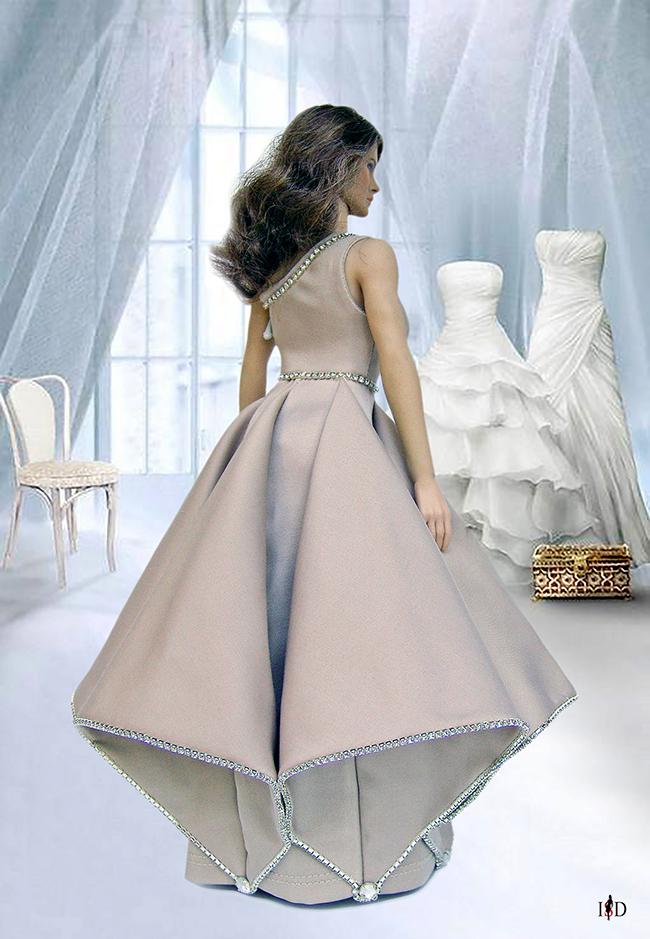 phicen designer ballkleid