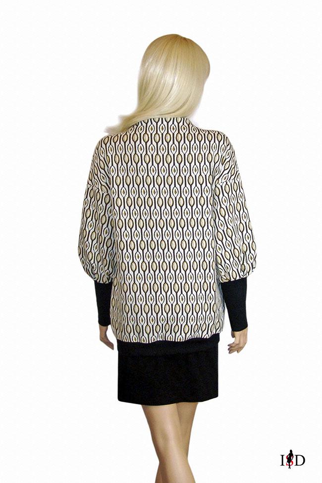 designer retro pullover damen