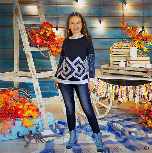 designer patchwork sweatshirt 3 d muster